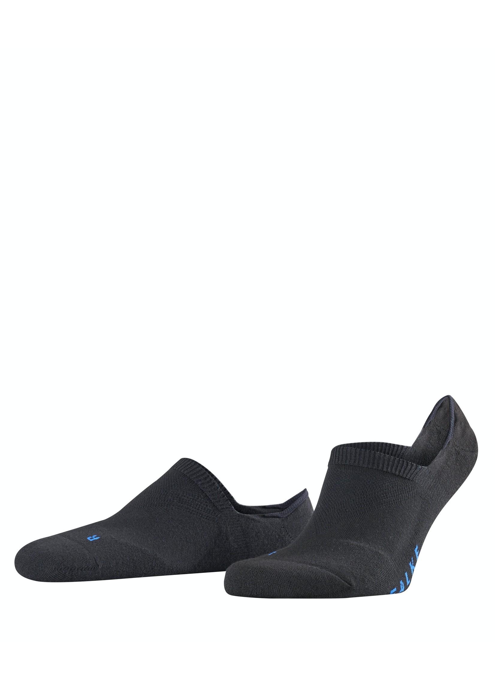 Falke Cool Kick unisex sneakersokken zwart