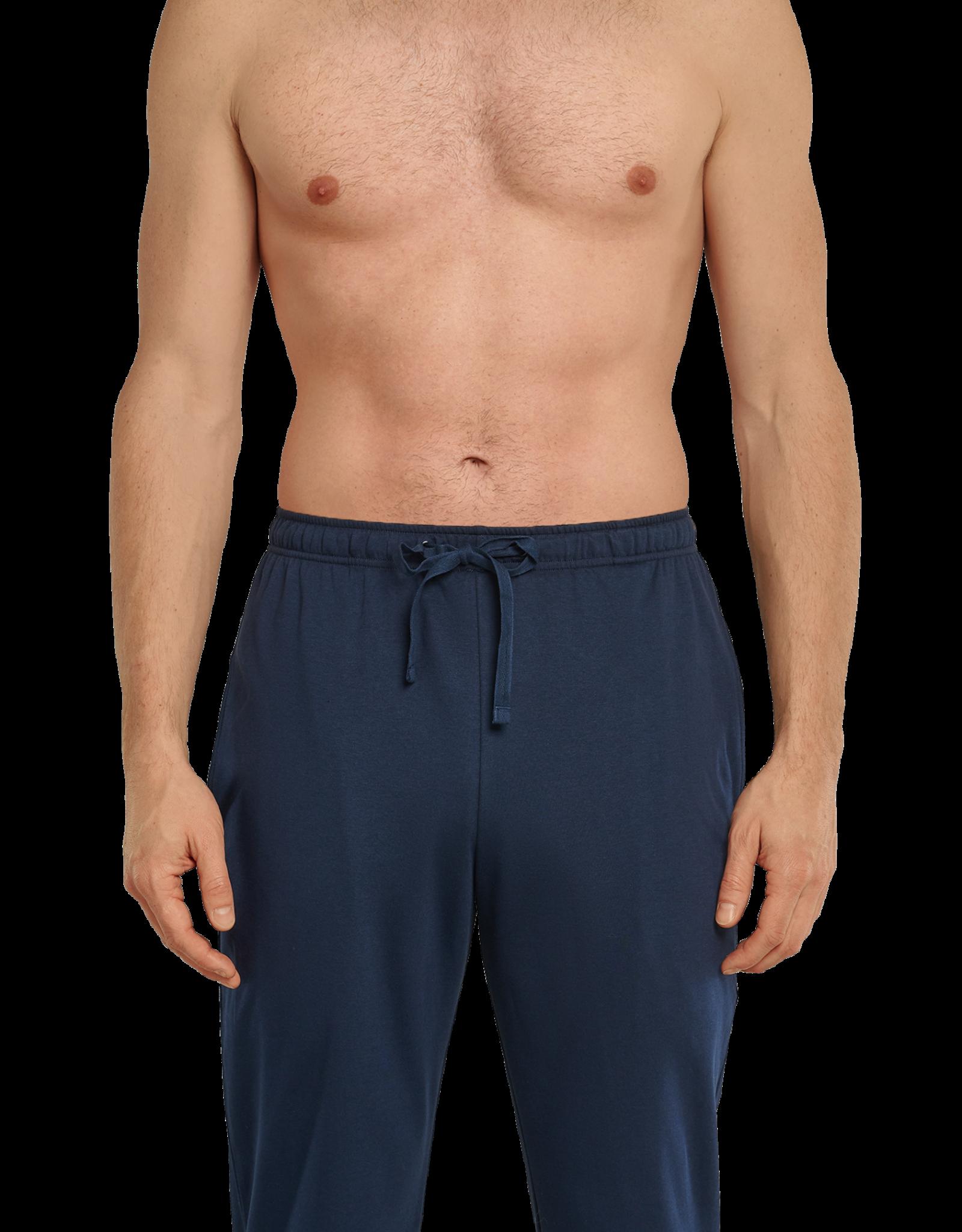 Schiesser Schiesser lange mouw pyjama marine