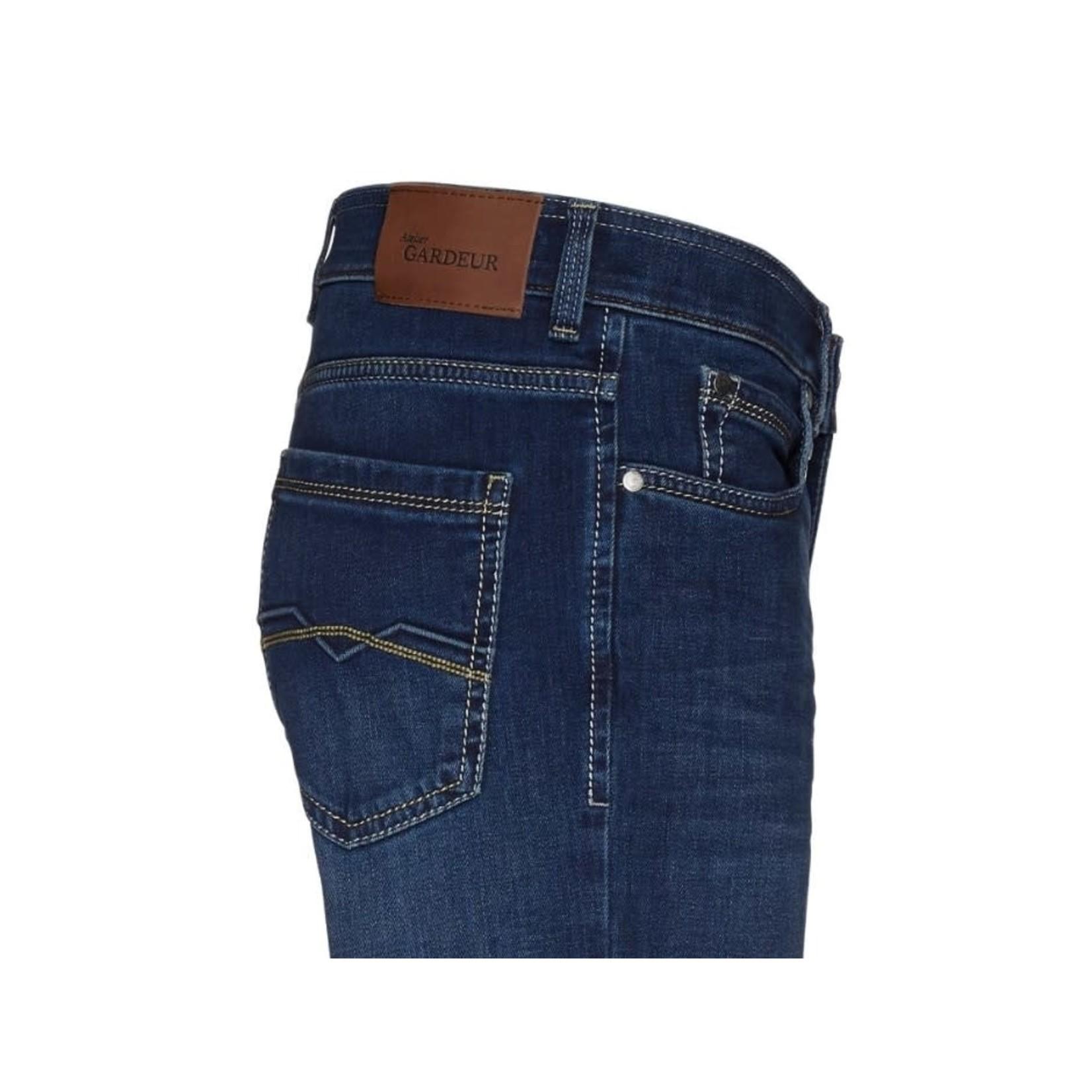 Gardeur Batu-2 modern fit jeans middenblauw 71001-068