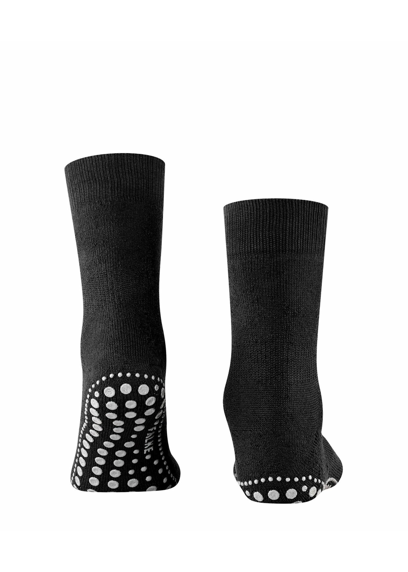 Falke Homepads stopper sokken zwart