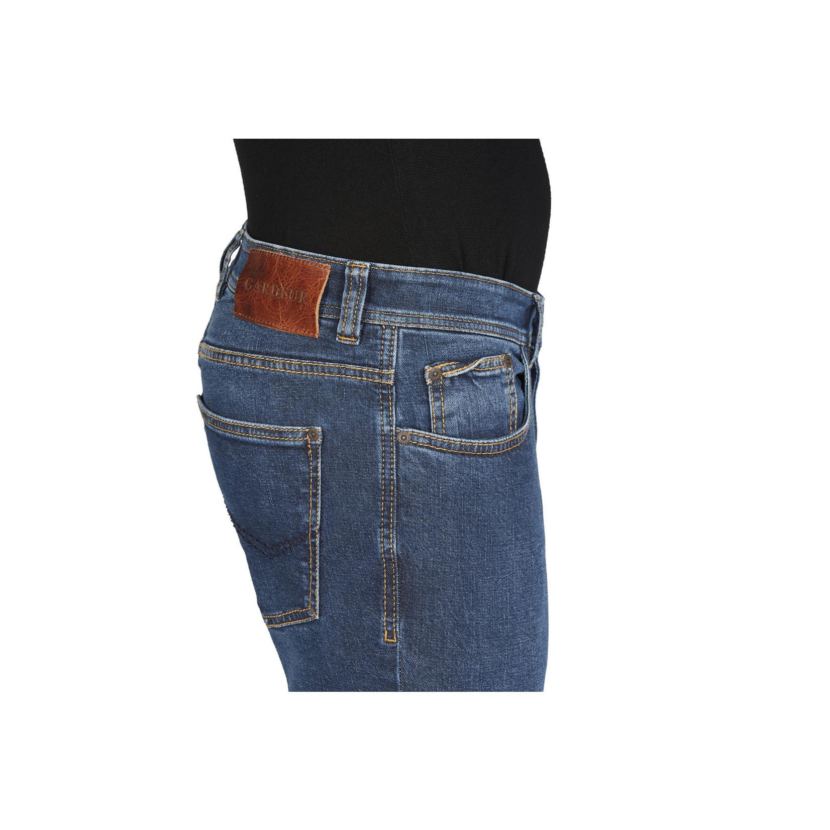 Gardeur Sandro slim fit jeans middenblauw  470731-168