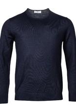 Thomas Maine pullover ronde hals marine