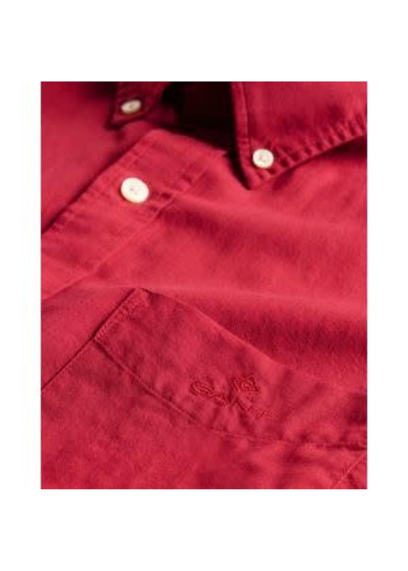 GANT overhemd bordeaux