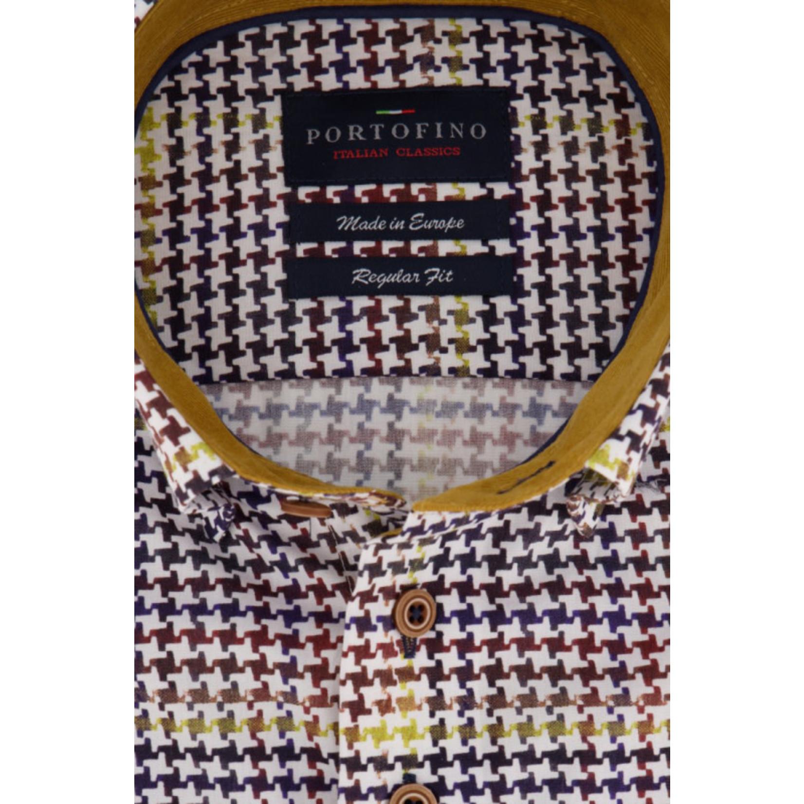 Portofino overhemd ruit multi colour