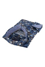 Portofino overhemd blauwe bladeren