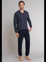 Schiesser pyjama marine combi