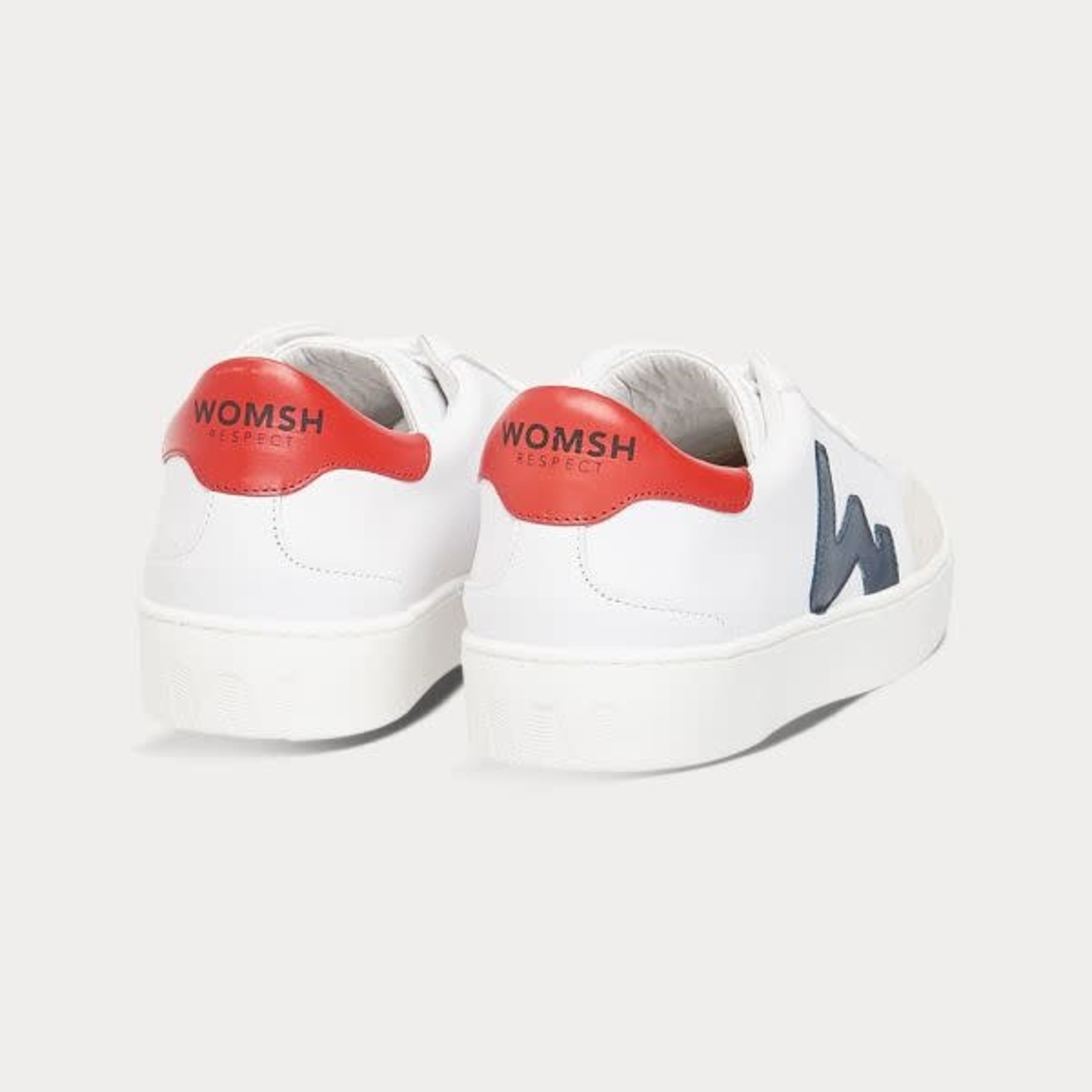 Womsh Womsh Hector sneaker wit rood