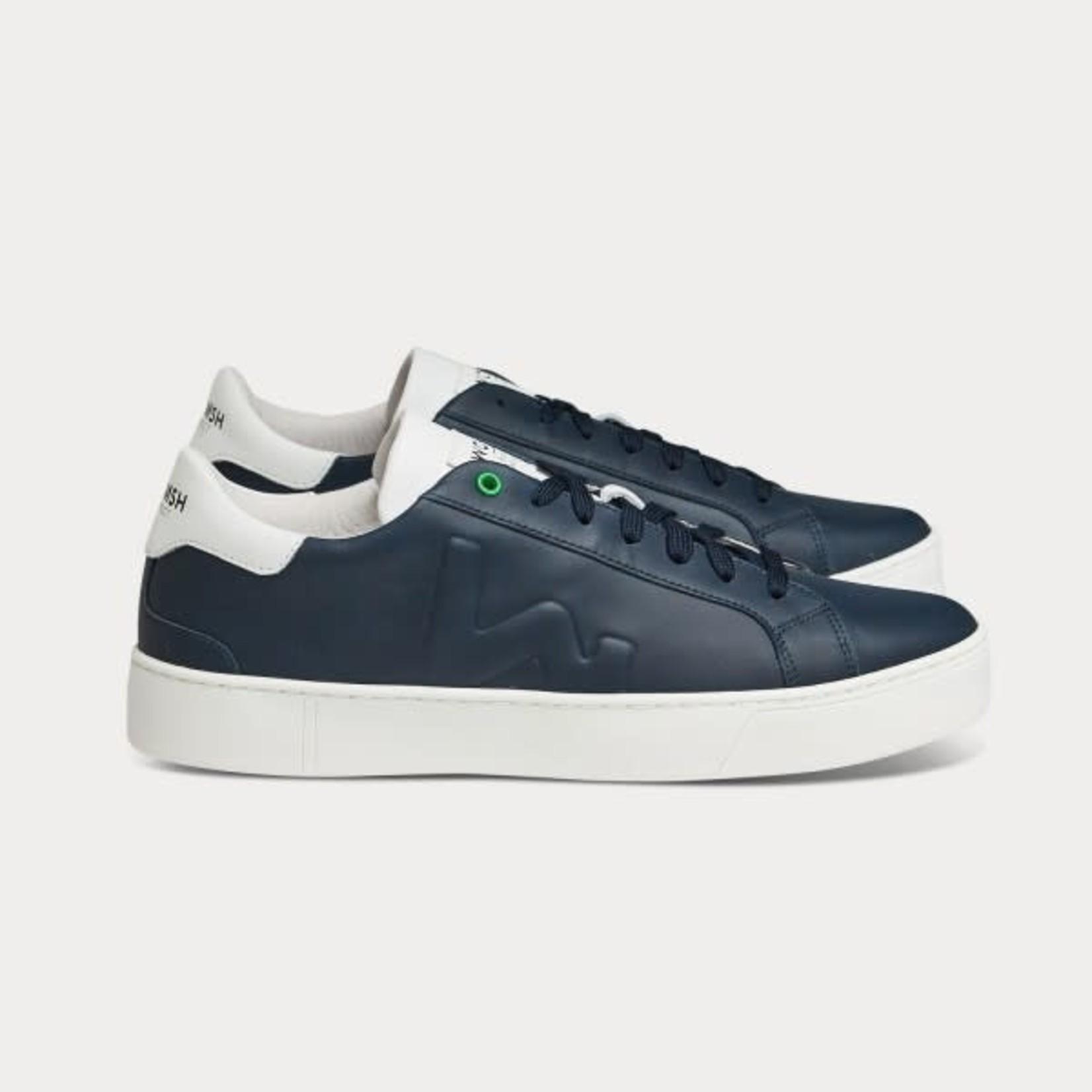 Snik sneaker marine wit combinatie