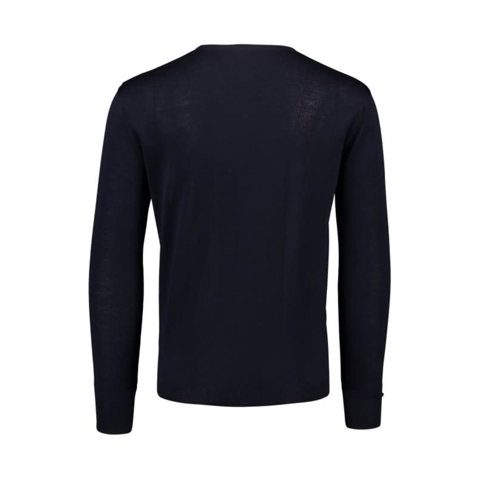 Portofino pullover merino v-hals marine