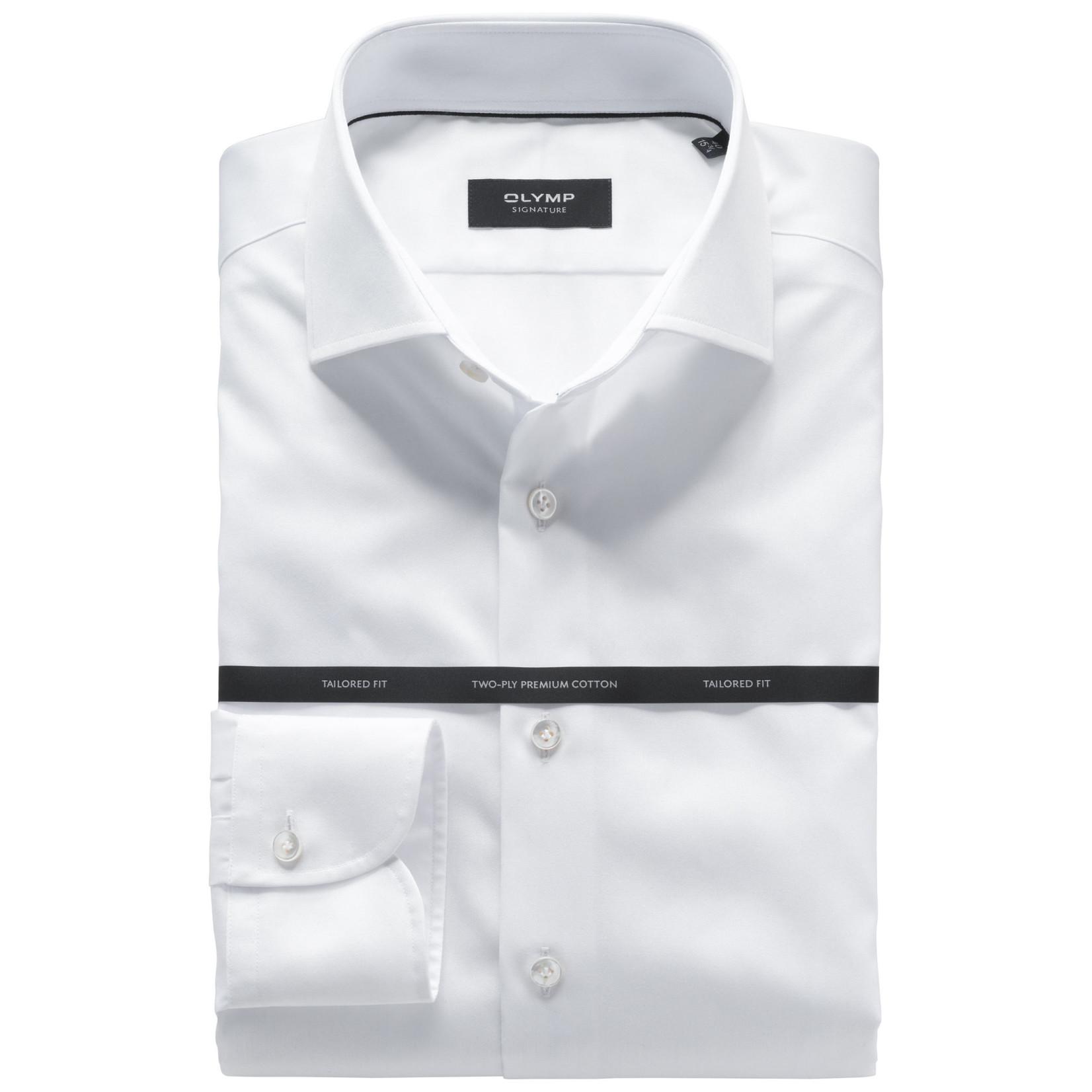 Olymp Signature overhemd wit