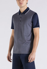 Paul & Shark polo korte mouw marine combi
