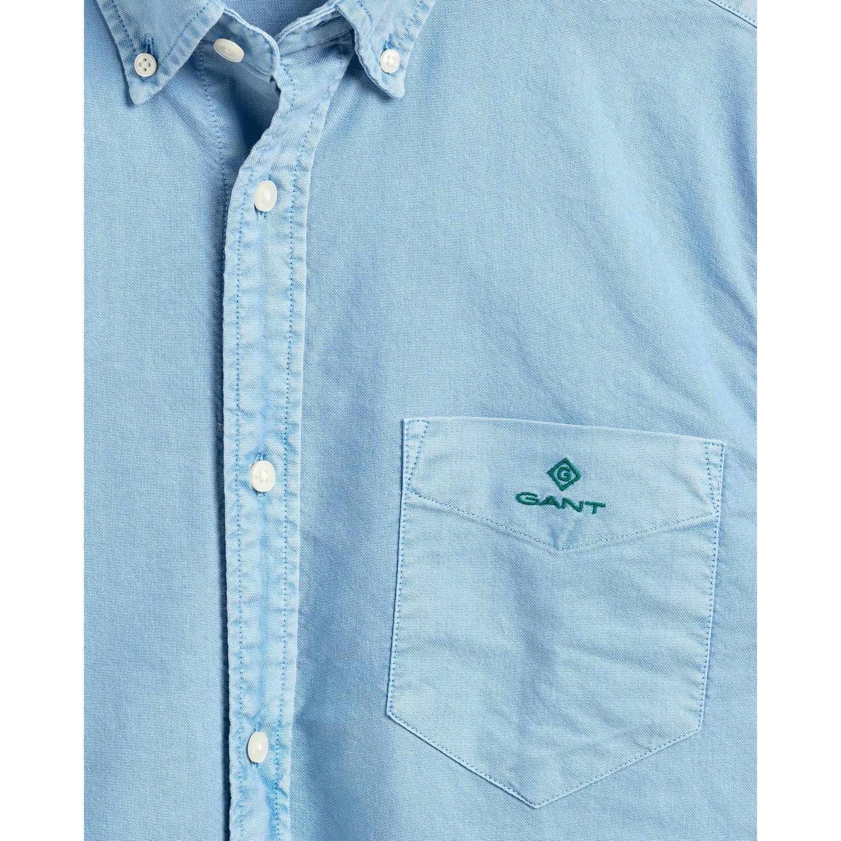 GANT Oxford overhemd lichtblauw