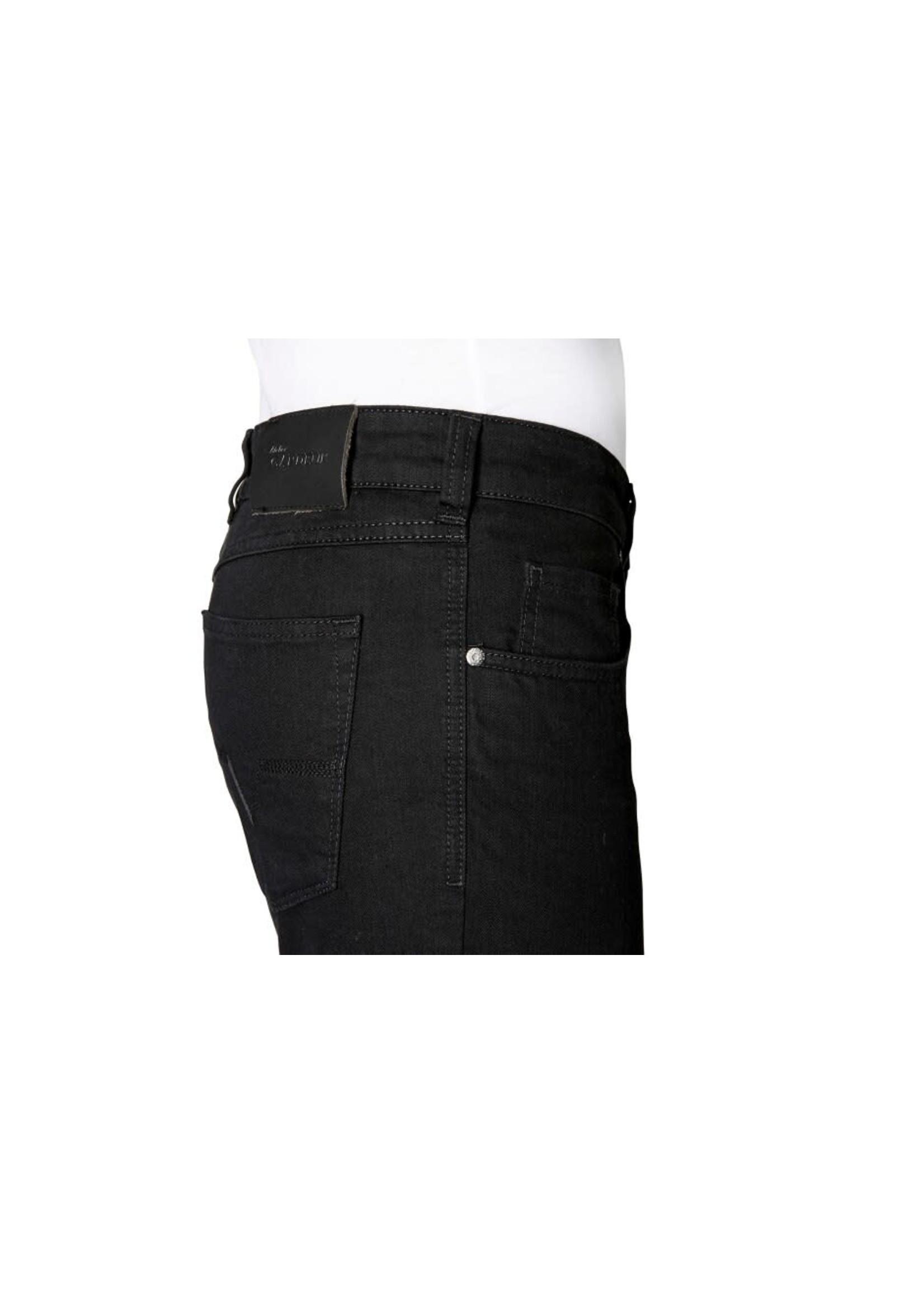 Gardeur Nevio-11 regular fit jeans zwart 470181-099