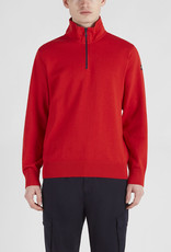 Paul & Shark zip trui rood