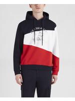 Paul & Shark hoodie marine balken