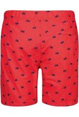 Shiwi zwemshort rood krabben