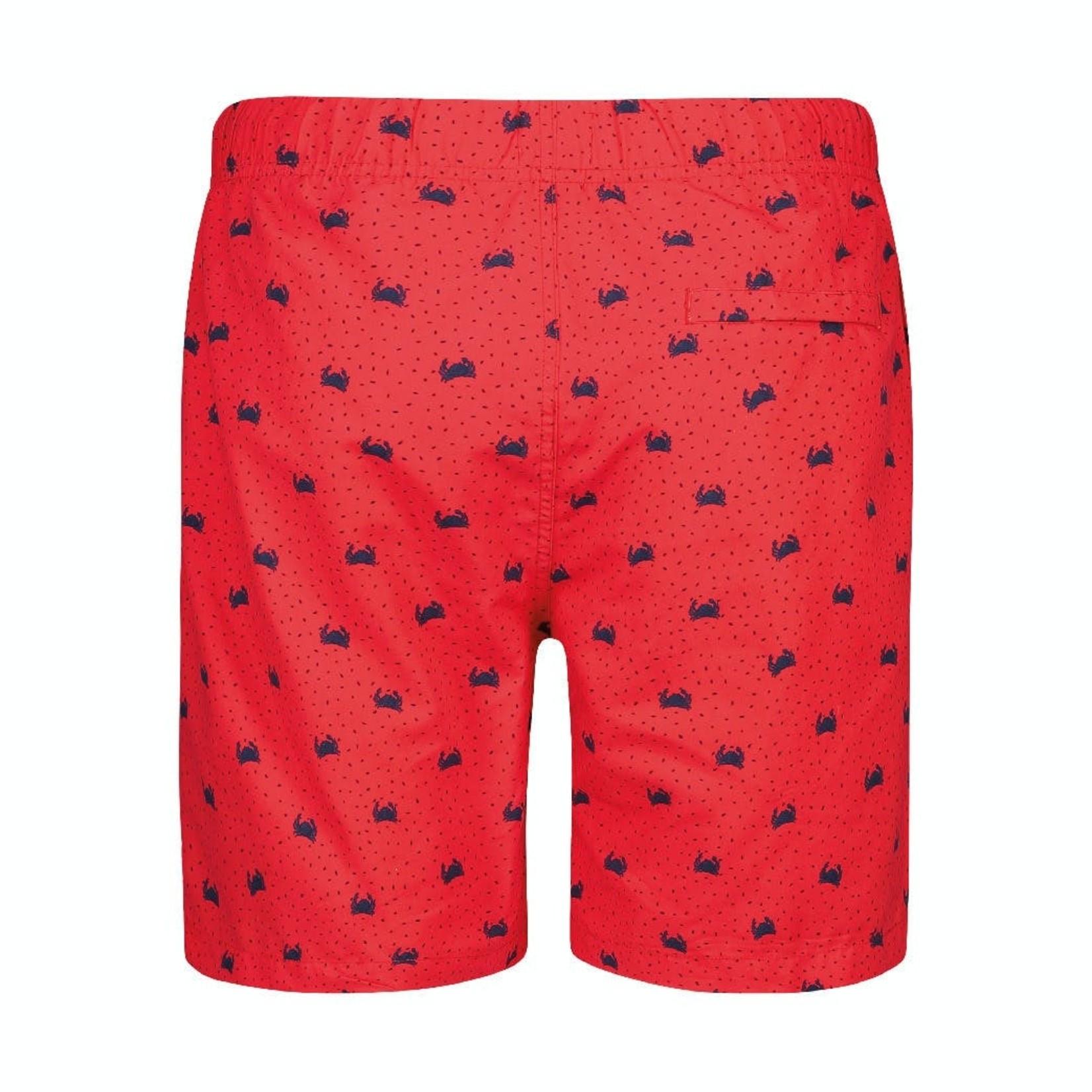 Shiwi Shiwi zwemshort rood krabben