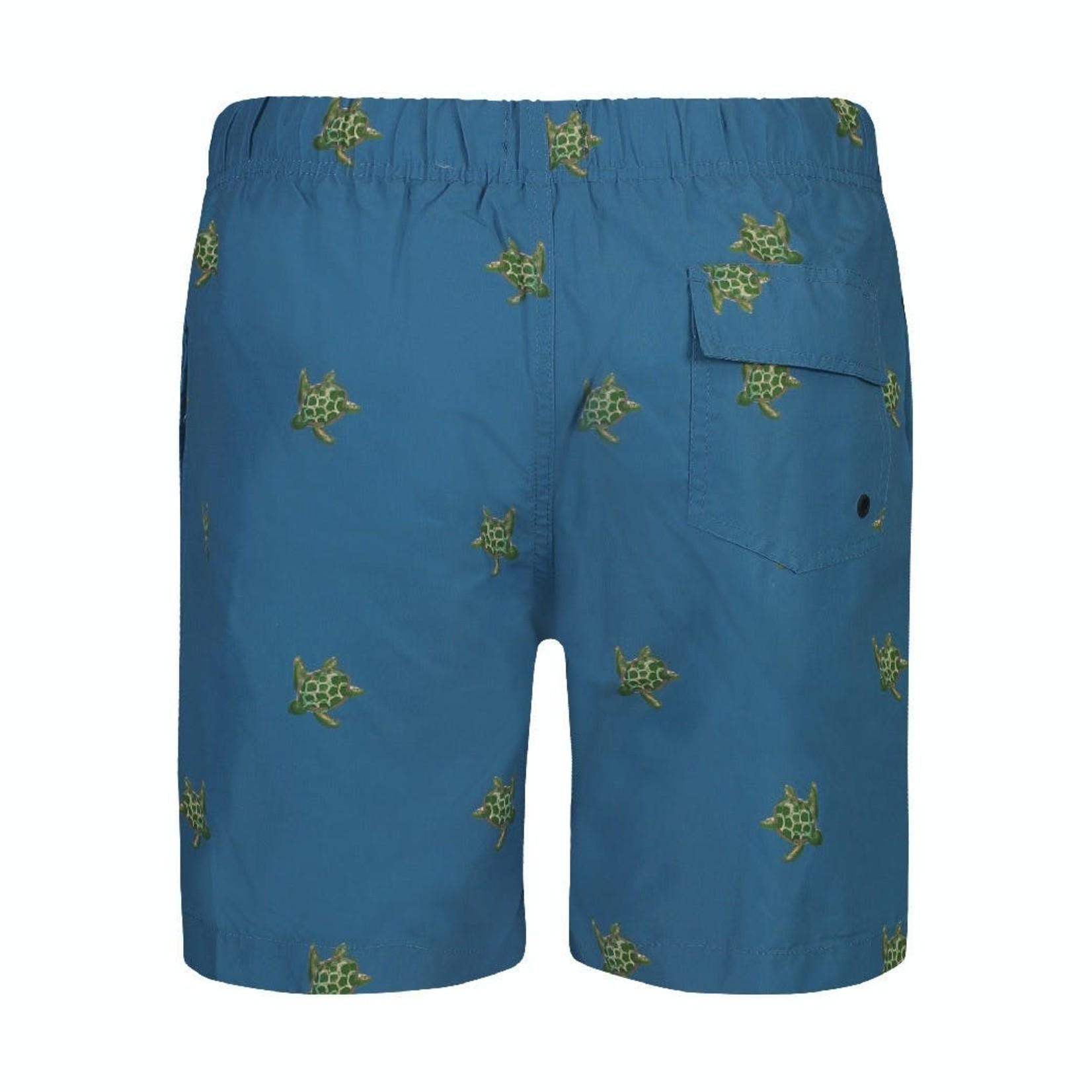 Shiwi Shiwi zwemshort blauw schildpadden