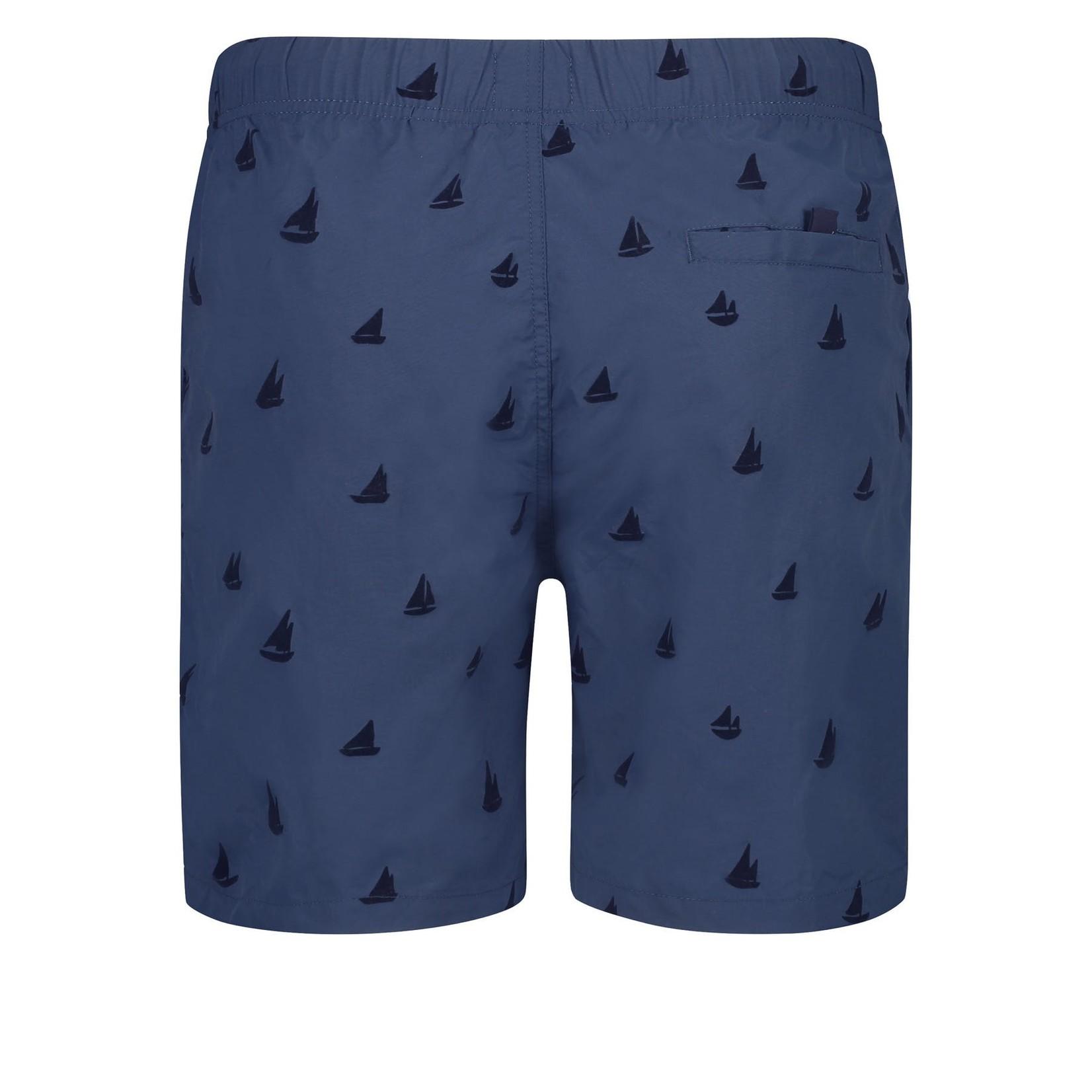 Shiwi Shiwi zwemshort blauw zeilboten