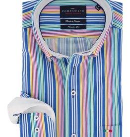 Portofino overhemd multi streep