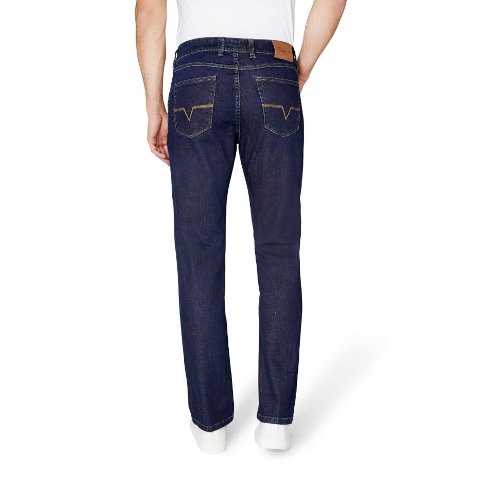 Gardeur Nevio-11 regular fit jeans donkerblauw 470181-069
