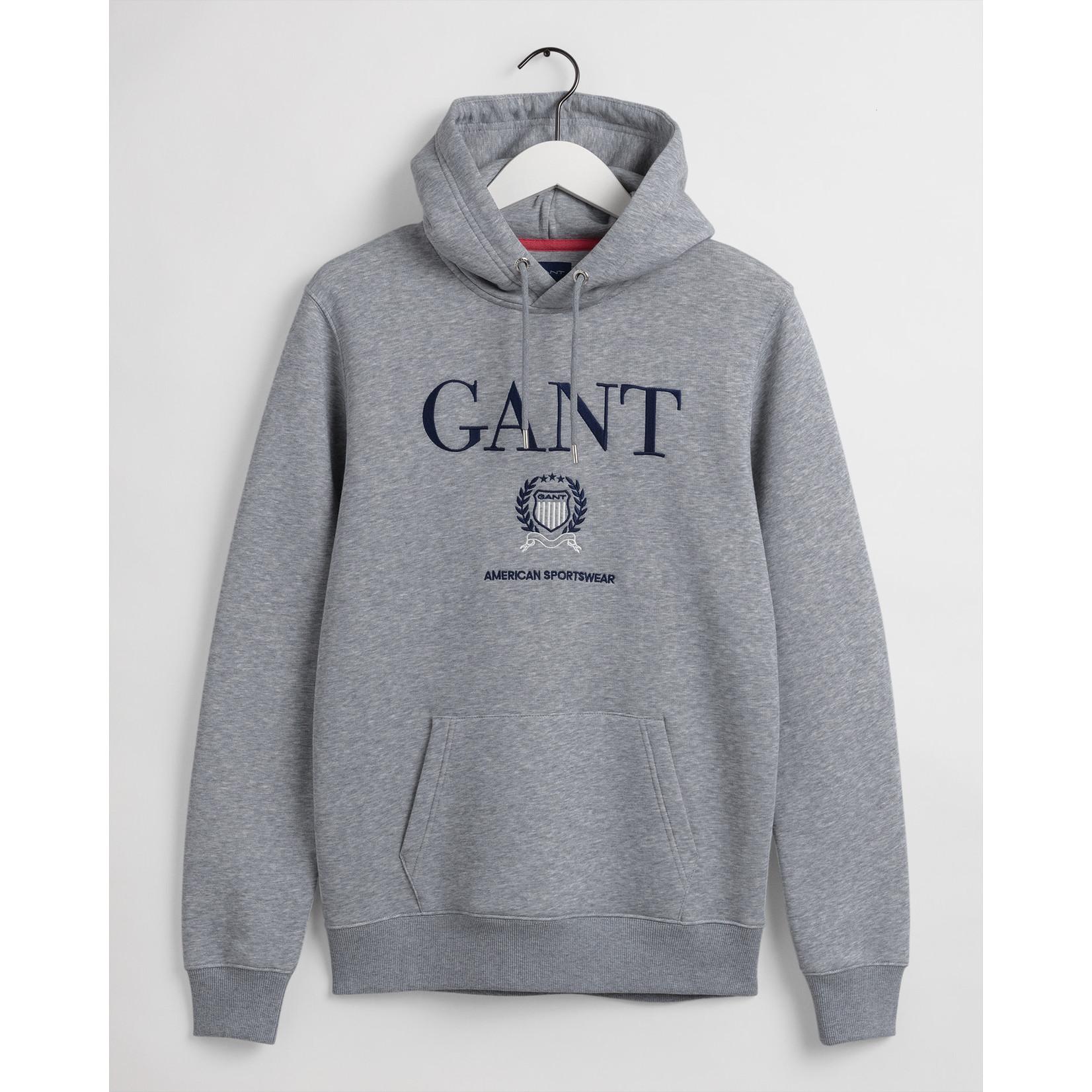 GANT hoodie grijs