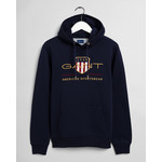 GANT Archive Shield hoodie marine