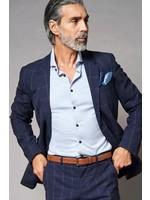 Desoto Luxury jersey overhemd lichtblauw