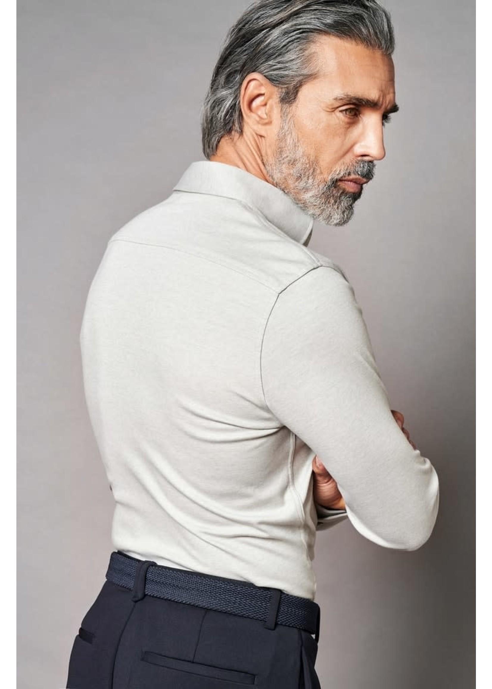 Desoto Luxury jersey overhemd lichtgroen