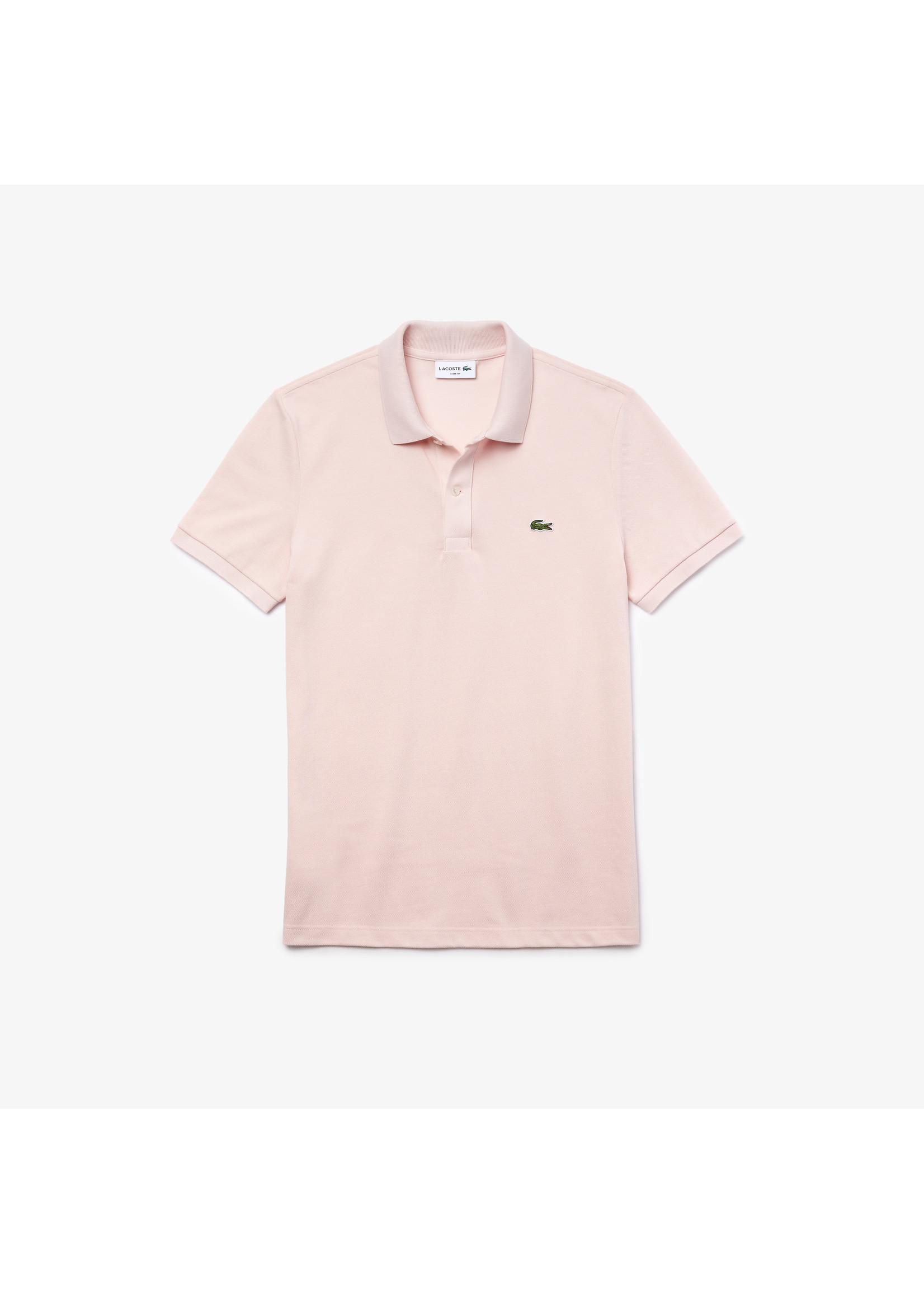 Lacoste polo korte mouw roze