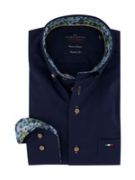 Portofino regular fit overhemd marine