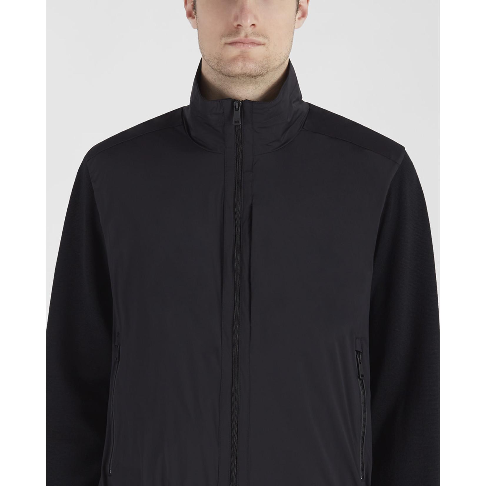 Paul & Shark Typhoon vest met speciale zakken zwart