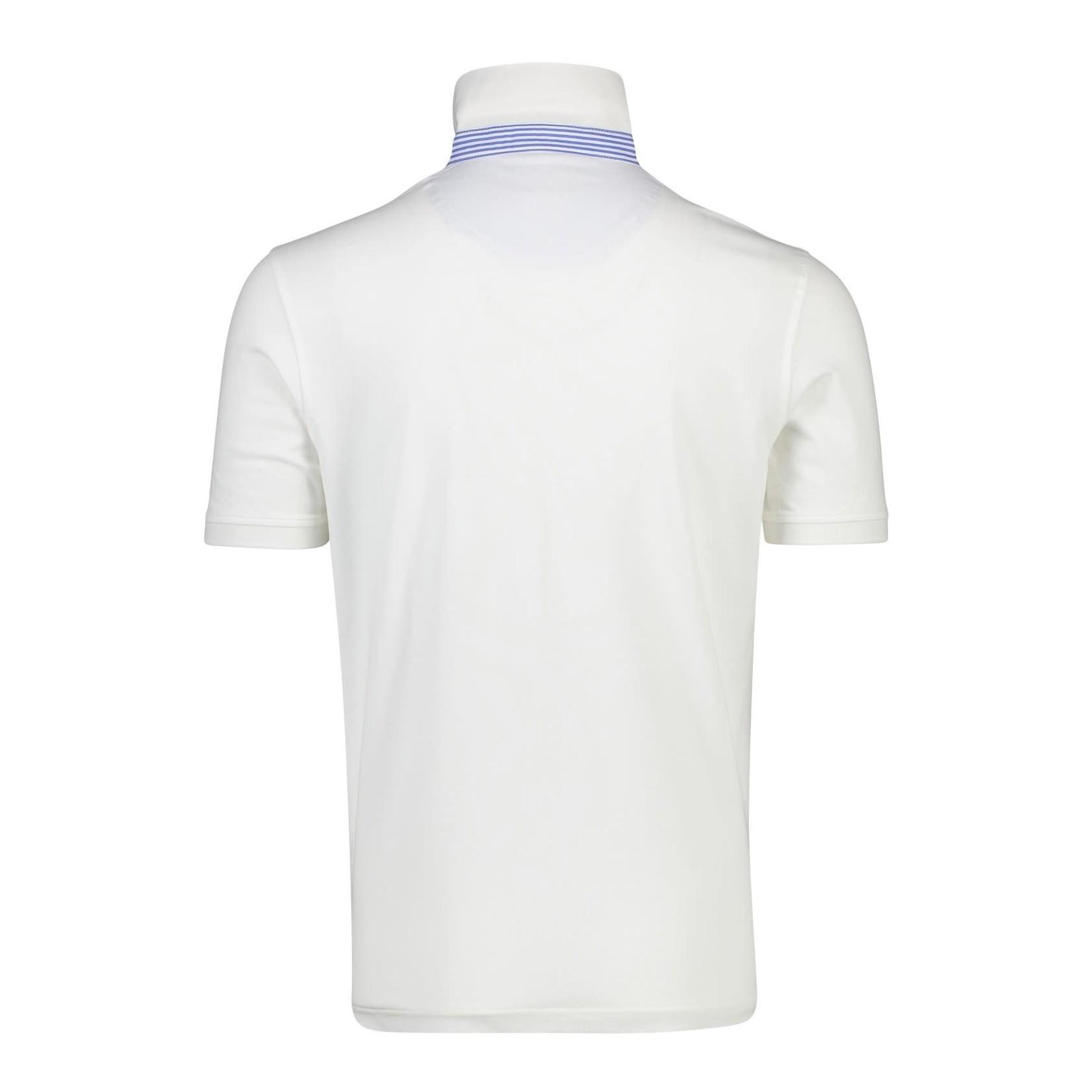 Portofino polo korte mouw wit