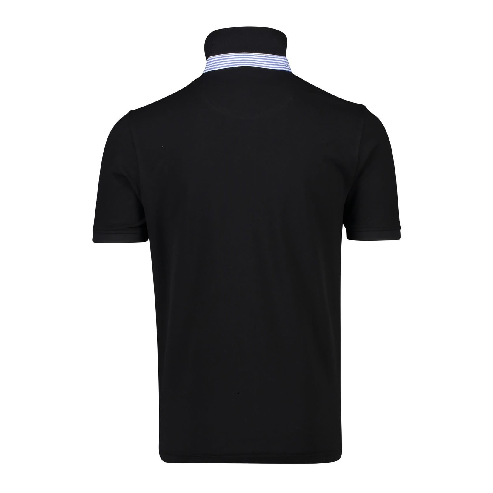 Portofino polo korte mouw zwart