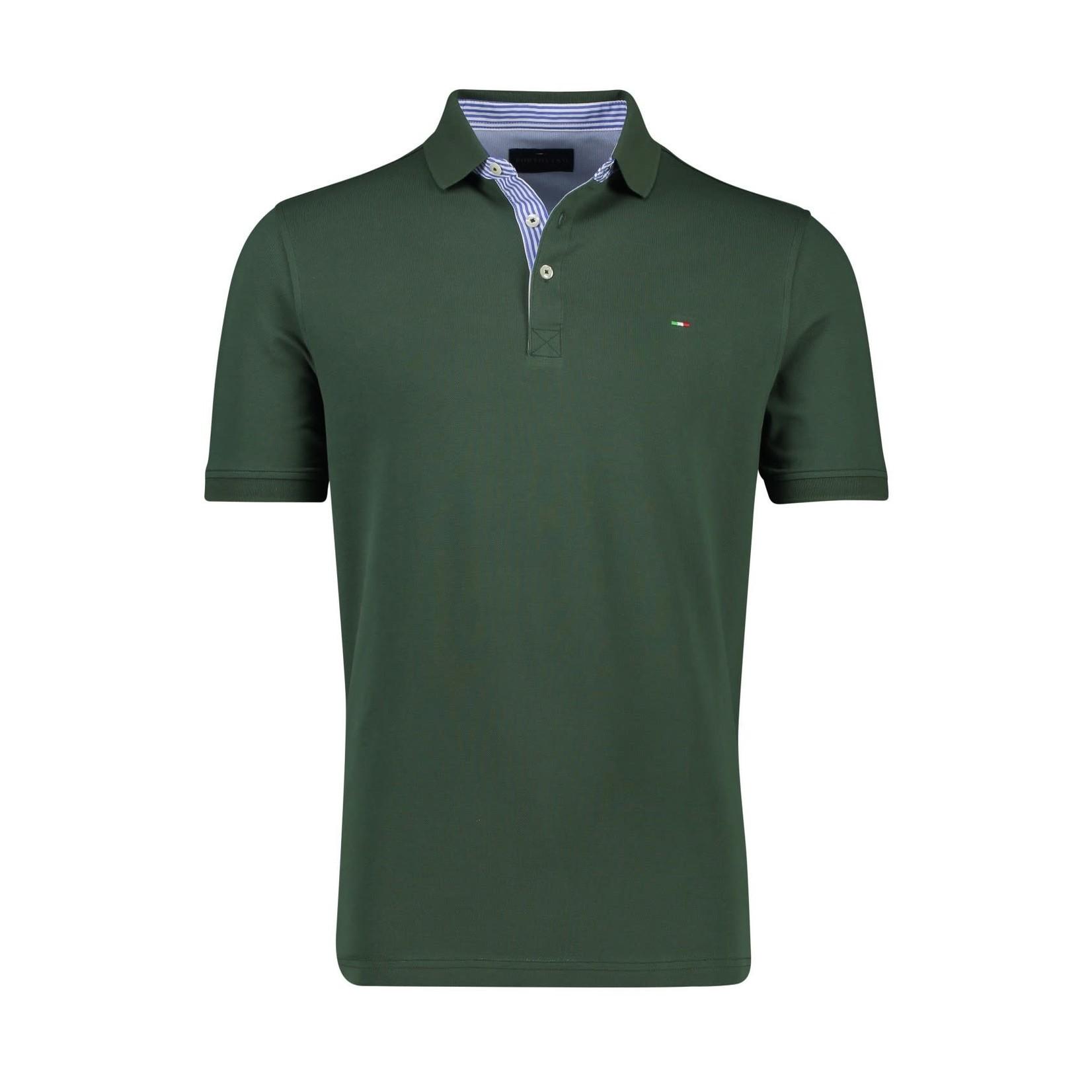 Portofino polo korte mouw groen