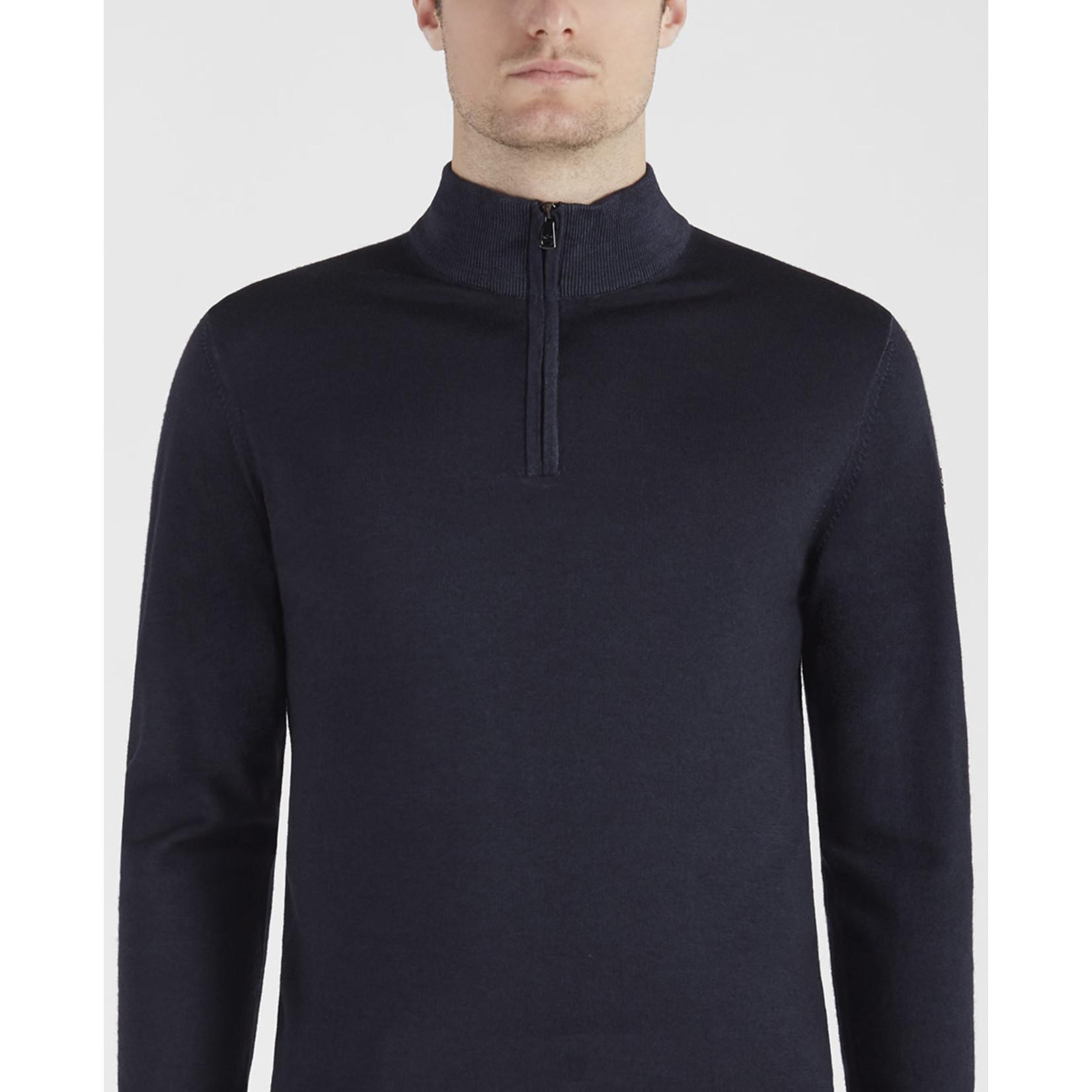Paul & Shark zip pullover marine