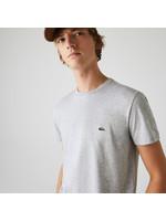 Lacoste t-shirt ronde hals lichtgrijs