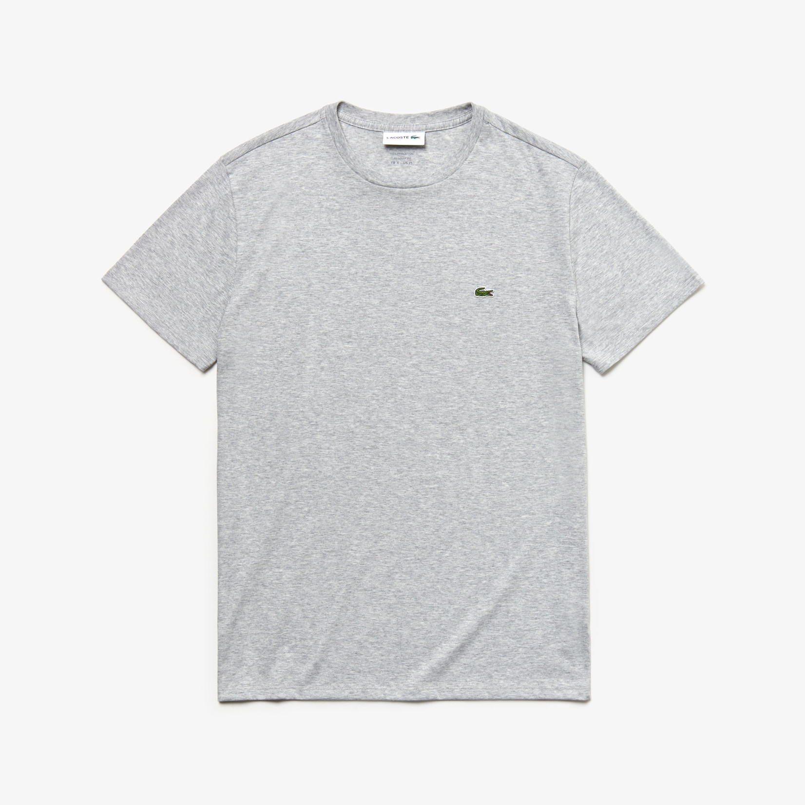 Lacoste t-shirt lichtgrijs