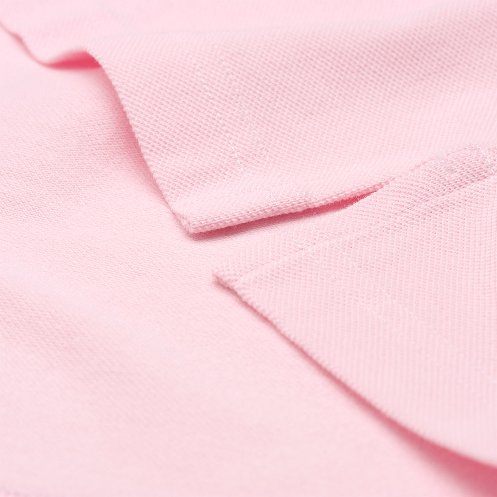 GANT polo korte mouw original piqué roze