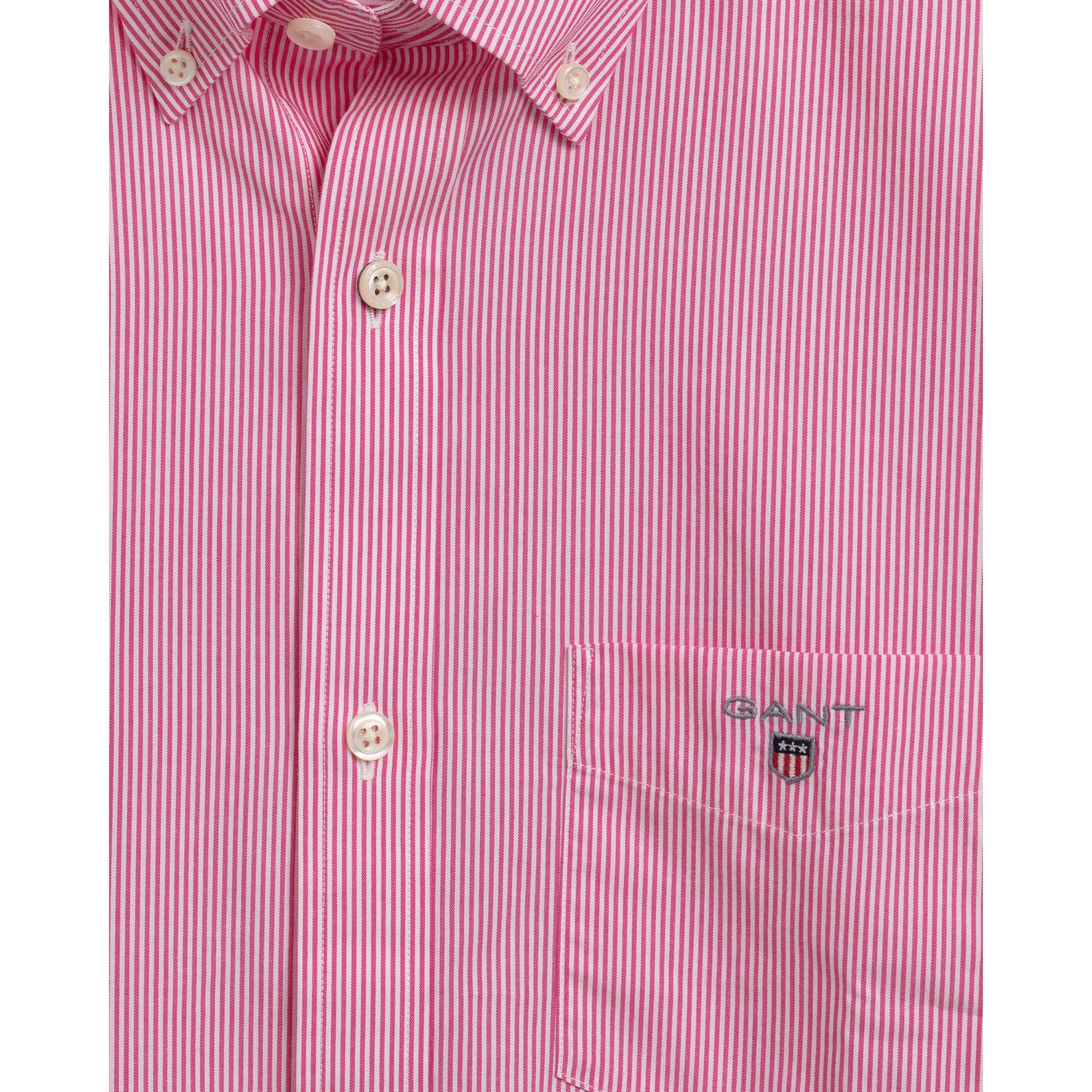 GANT overhemd korte mouw roze