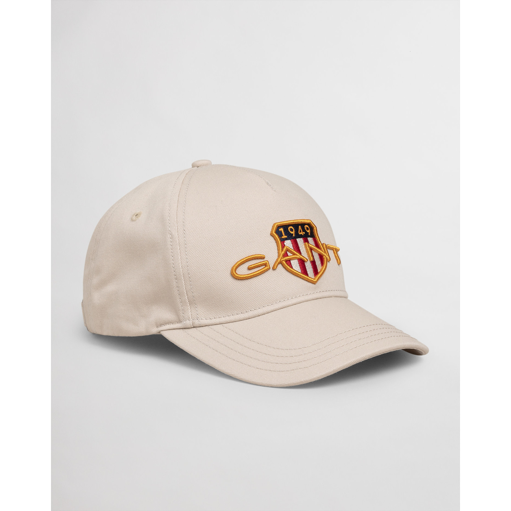 GANT katoenen baseball cap beige