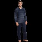 Schiesser pyjama marine streep