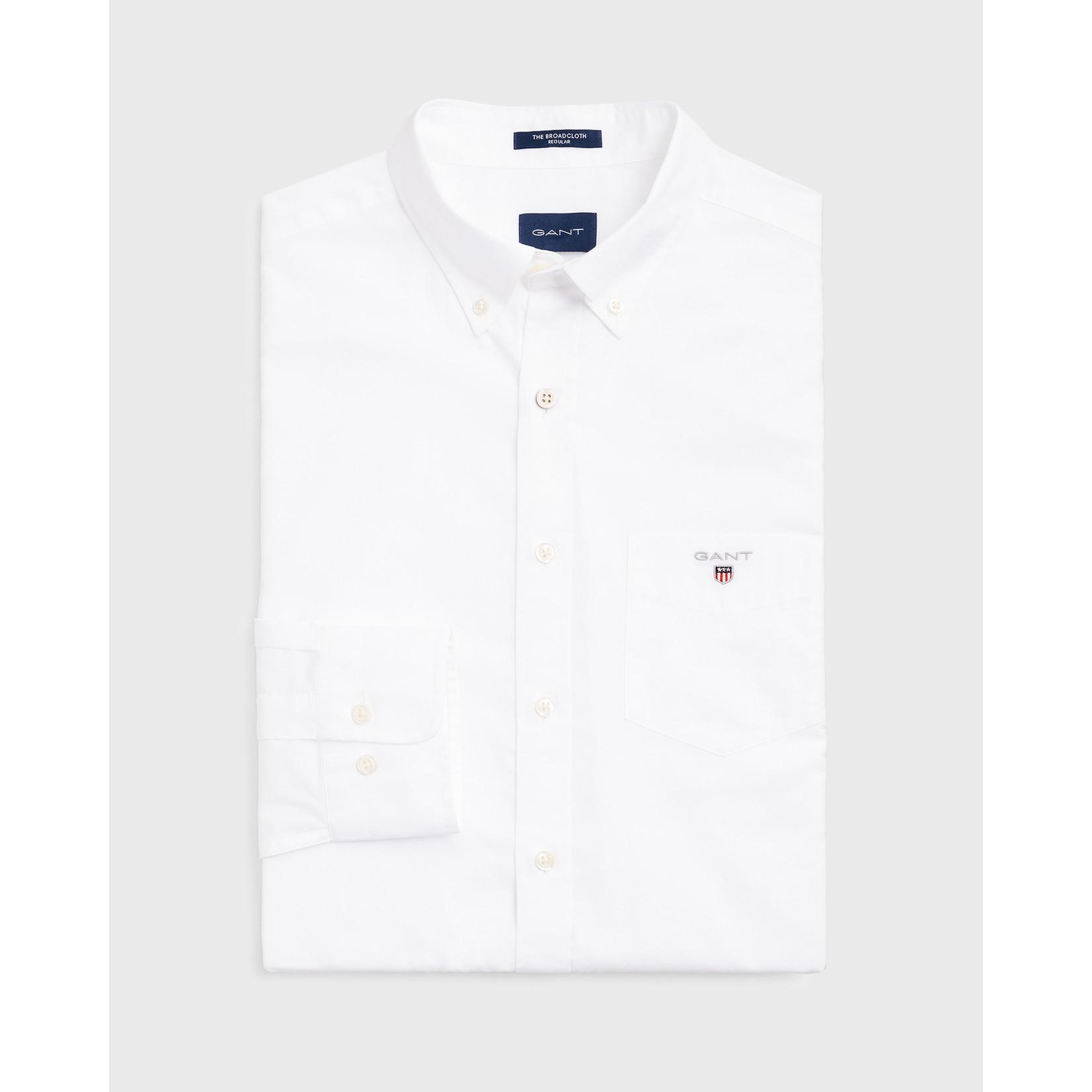 GANT regular fit overhemd wit