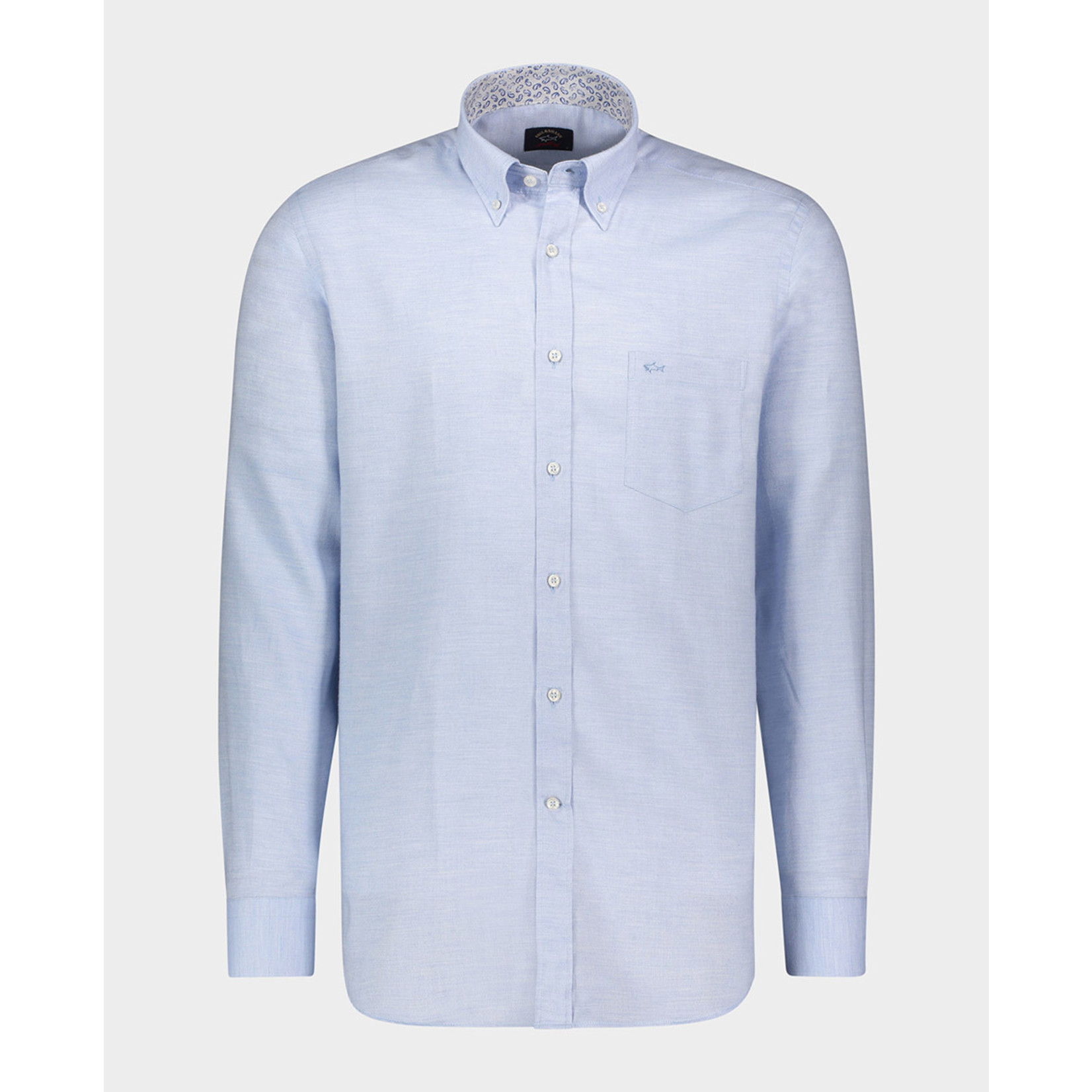 Paul & Shark regular fit overhemd lichtblauw