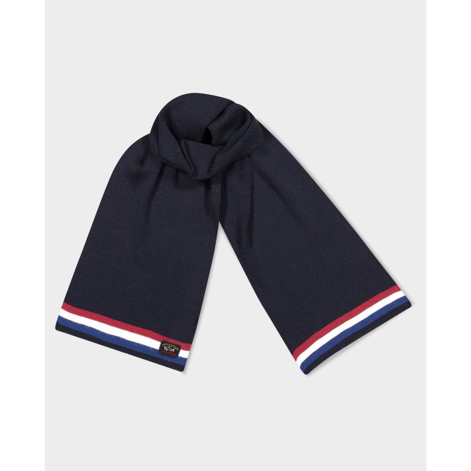 Paul & Shark sjaal marine combinatie