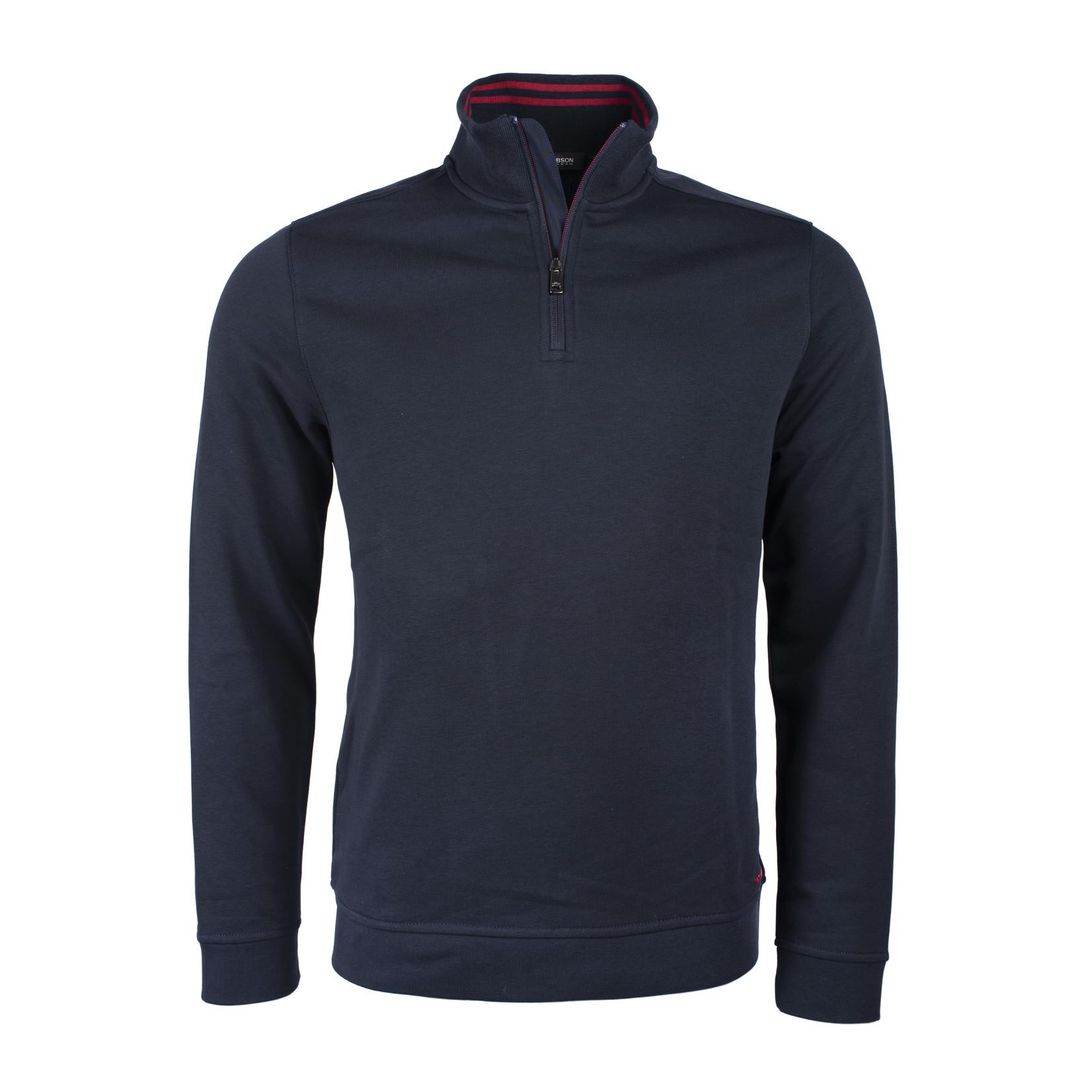 Roy Robson rits pullover marine