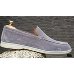 HON low top suede schoenen grijs