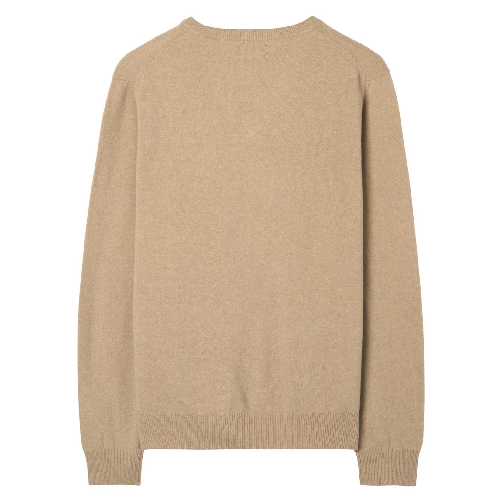 GANT pullover v-hals lamswol zand