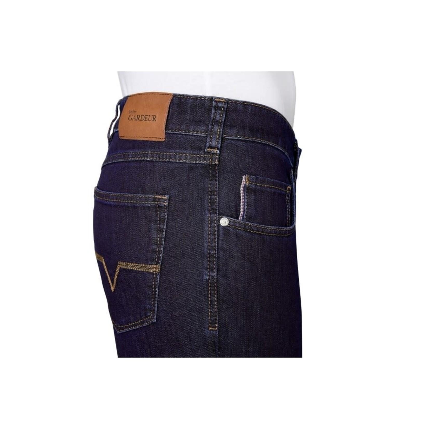 Gardeur Nevio-11 regular fit jeans marine 470181-169