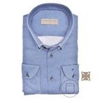 John Miller slim fit overhemd blauw